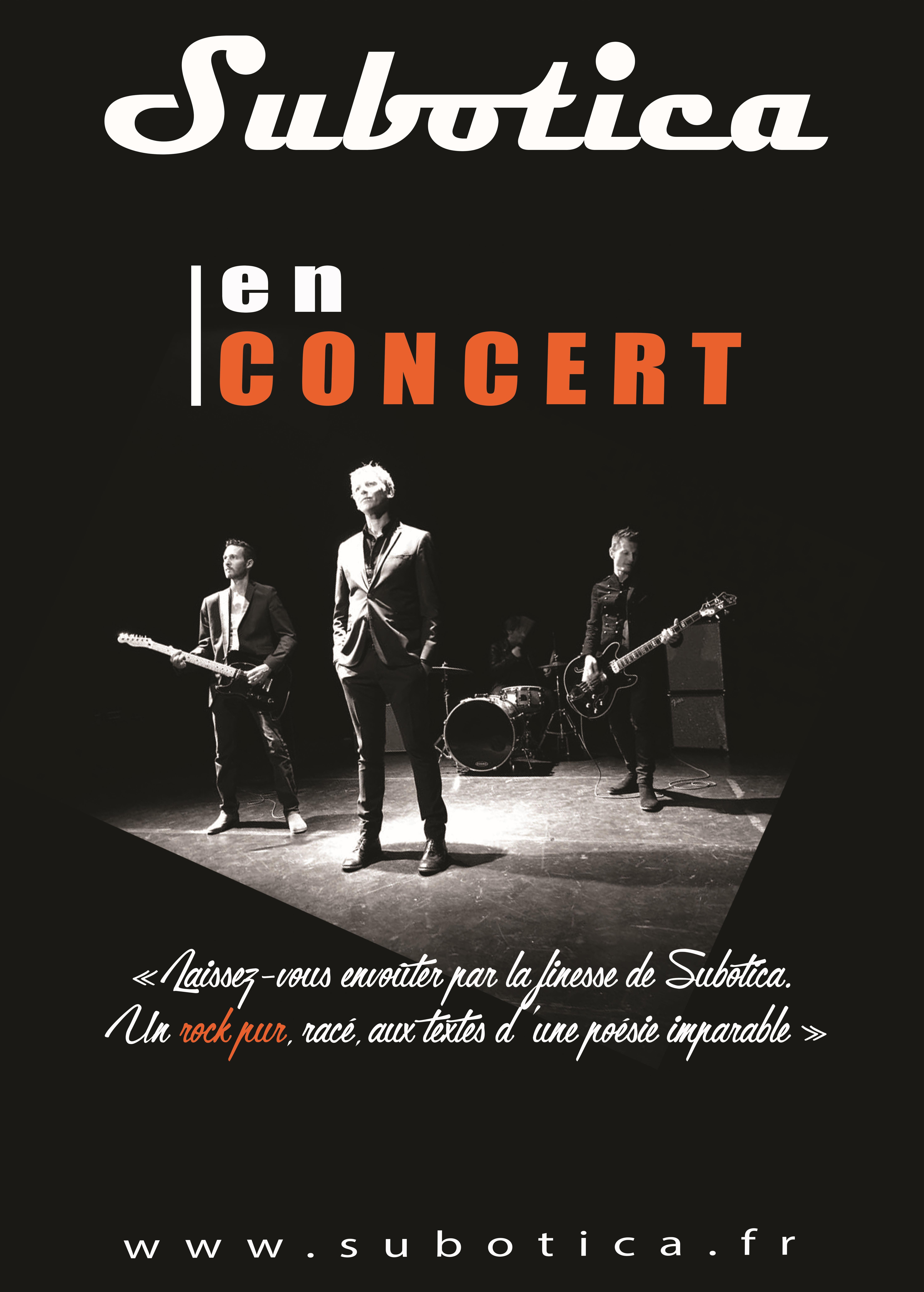 téléchargez l'affiche de concert !